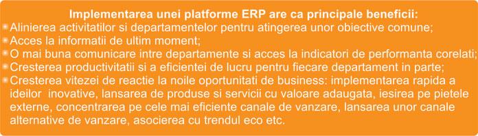 Rolul unui ERP