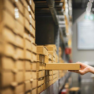ERP Stocuri siguranta, durata aprovizionare, puncte lucru, depozite centrale, comenzi, logistica