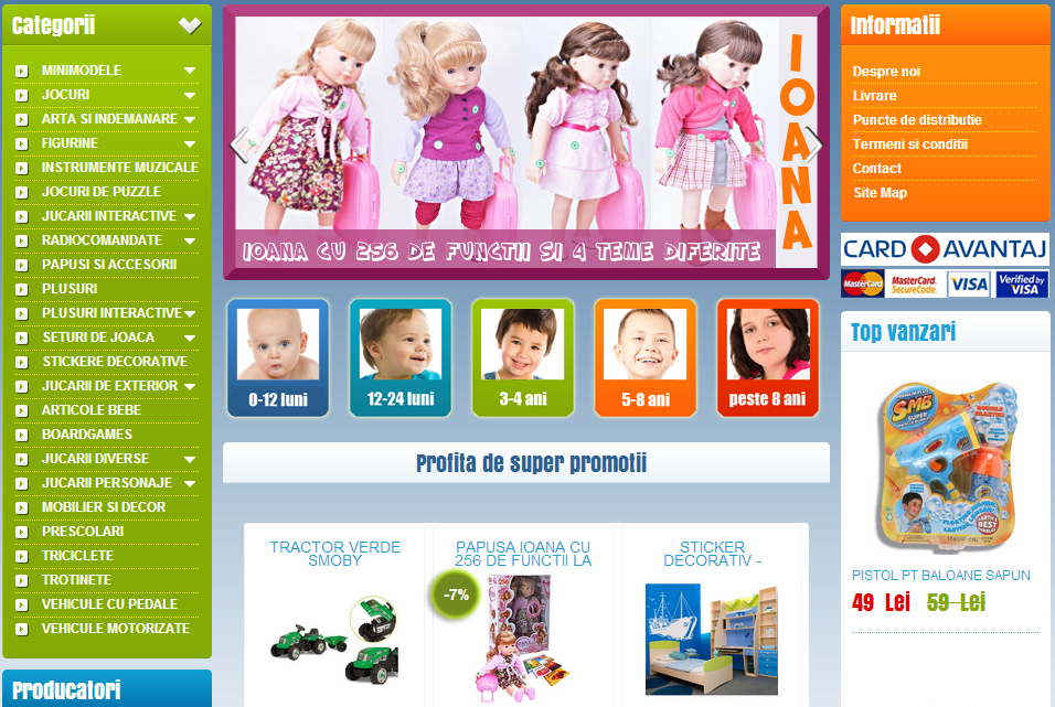 magazin online e-commerce