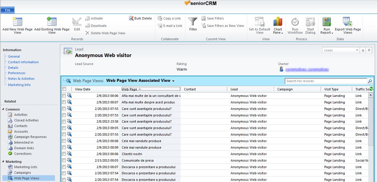 crm software online marketing integrat