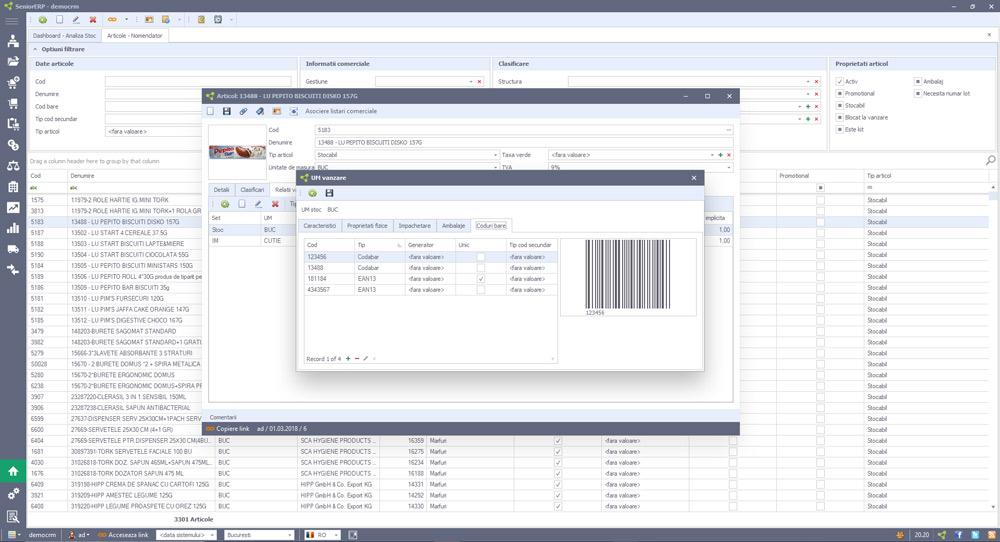 Rolul sistemului ERP in controlul retelelor de distributie si managementul stocurilor